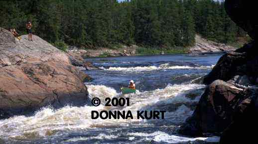 Bloodvein River, Copyright © Donna R. Kurt